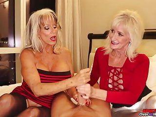 Panino Granny Granny Boob, oltre 40 handjobs, Gilf