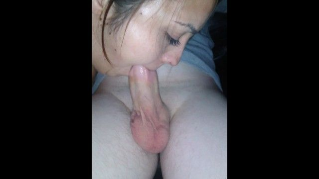 Pornhub fan acquires invited over and wife gives him excellent no hands blow job and drank his cum