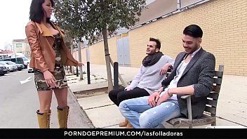 Las Folladoras - Hot Spagnolo Milf Suhaila Hard Rides Penis non professionale in Pick-up Steamy e cazzo