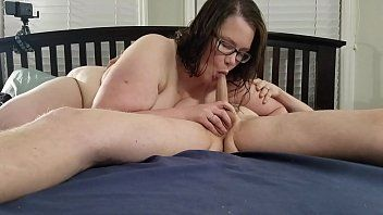 BBW Biggest Tit Wife in sella a My Shlong e Grande Creampie
