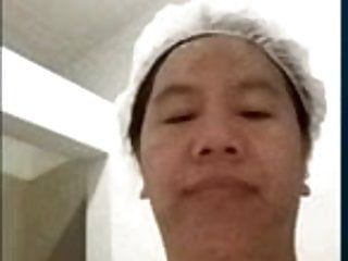 Filipina Nasty Nora sarkma çörekler