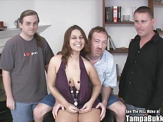 Grande Tit Lexxxi Lockhart Bukkake Gang Group-Sex Fuck Party