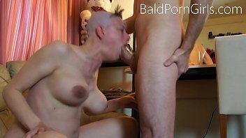 Shaved headed doxy deept-throat humiliation - baldporngirls.com