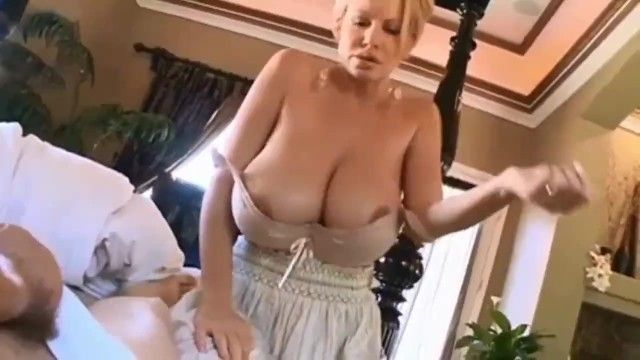 My superlatively good allies mommy wakes me up with her biggest natural bra buddies