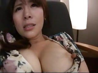 Japanese milf acquires lengthy teats played with and sucked