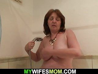 Breasty girlfriends mama receives enticed and doggy-fucked